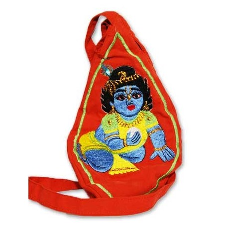 Gopal Krishna Bead Bag