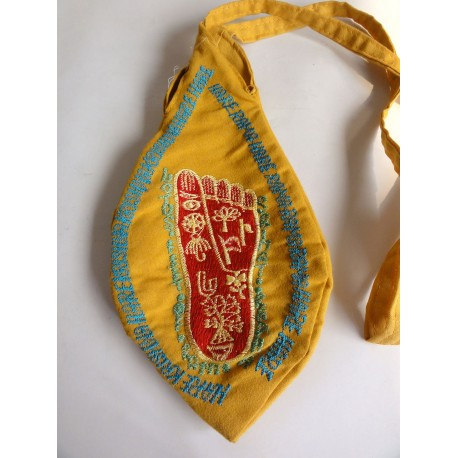 Japa Bag - Embroidered MahaMantra