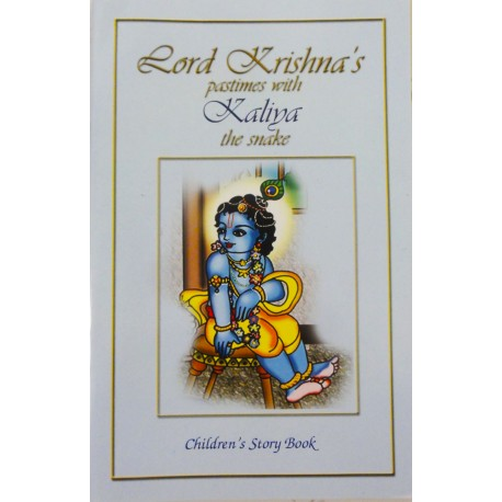 Lord Krishna's pastimes with Kaliya the Snake