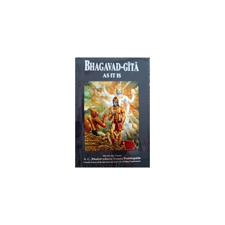 Bhagavad Gita As It Is (pocket size)
