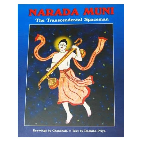 Narada Muni Coloring Book